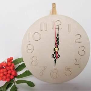 zegary betonowy zegar wiszący, zegar, z betonu, oryginalne
