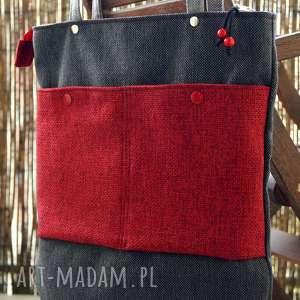 torba na ramię, torba, miejska, codzienna, koraliki, prezent, hobo