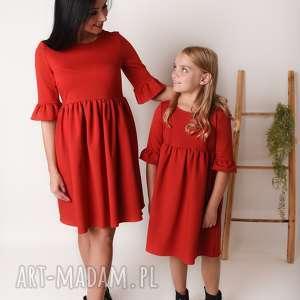 latori - sukienka dziewczęca mama i córka ld51/1, mamaicorka