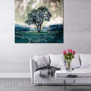 Obraz XXL DRZEWO 19 -80x80cm design na płótnie, drzewo, designe