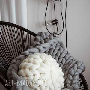ręcznie wykonane poduszki wełniana poduszka 100% wełna merynosów
