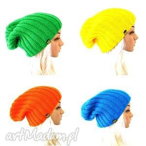 komplet kolorowych czapek unisex - komplet, zestaw, kolory, czapka, czapki, unisex