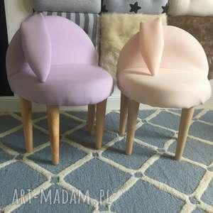 stołek królik, krzesełko dla dzieci, królik