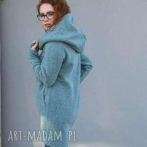 wełniany sweter, luźny wygodny i ciepły navahoclothing, sweter