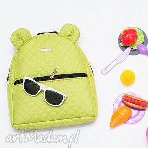 handmade plecaki plecaczek farbiś 652 limonkowy