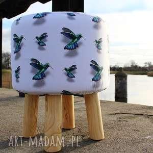 Pufa Koliber - 36 cm , puf, pufa, taboret, stołek, kiwi, siedzisko