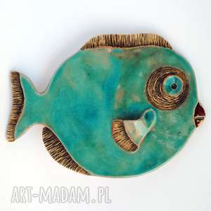 hand-made ceramika mniejsza blues