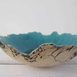wybrzeże Sardynii artystyczna miska, ceramiczna-miska, misa-ceramiczna