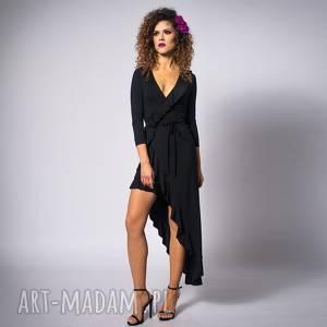 hand made sukienki elena 2 black night