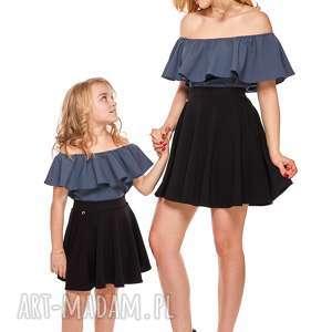 mama i córka bluzka hiszpanka dla córki ld9b/1, falbana, bluzka, mama