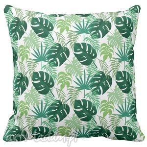 ręcznie wykonane poduszki poduszka dekoracyjna kwiaty tropic 6521