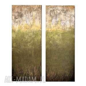 tierra verde 2, abstrakcja, nowoczesny obraz ręcznie malowany, obraz