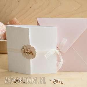 Kartka na ślub, chrzest i inne okazje scrapbooking kartki