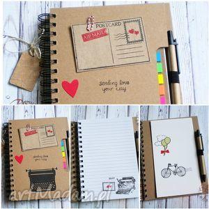 oryginalny prezent, damusia eko /stylowy /notatnik, notatnik, biurowy
