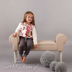 spodnie z zakładkami, spodnie, zakładki, dziewczęce, bawełna, eleganckie, sznurek