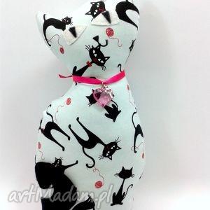 maskotki kot w koty miętowy, kot, przytulanka, poduszka, maskotka