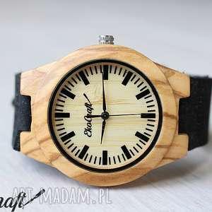 damski drewniany zegarek waxwing, zegarek, drewniany, naturalny, bambusowy
