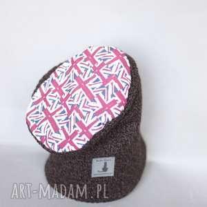 ruda klara czapka wełniana zimowa damska męska, wełna, damska, etno, zima