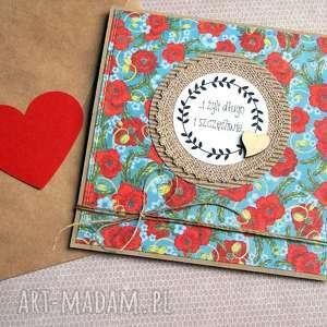 kartka ślubna :: handmade maki EKO II,