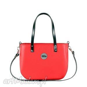 torebki torba damska aktówka red, torebka, aktówka, elegancka, mana-mana, torba