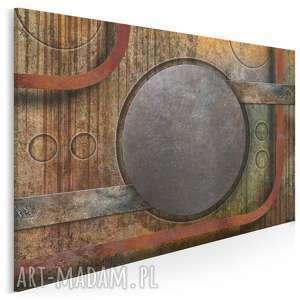 Obraz na płótnie - koła industrialny loft 120x80 cm 58301 vaku
