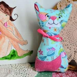 maskotki kotek dla maluszka - mruczek funia 18 cm, kotek, maskotka, niemowlę