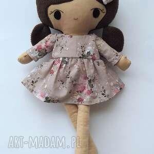 ręcznie wykonane lalki lalka przytulanka klara, 45
