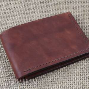 Portfel na karty portfele bruno leatherworks portfel, prezent