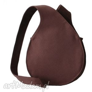 08-0003 purpurowa torebka listonoszka / fajne torebki młodzieżowe bluebird