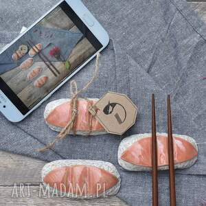 podstawka na pałeczki /nigiri/, sushi, nigiri, ceramika, pomysł prezent