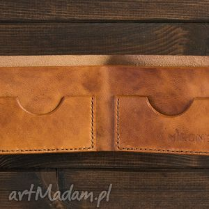 mirons leather goods bifold, portfel, męski, skórzany, skóra, portfelik