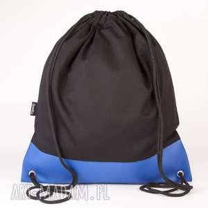 Niebieska skóra, torba, plecak, worek, ekoskóra