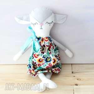 owieczka, owca, folk, folklor, lalka, maskotka, świąteczny prezent