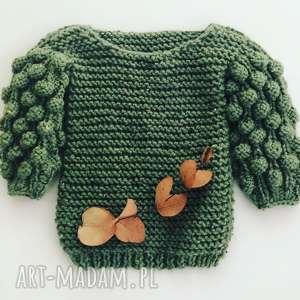 Bąbelkowy sweter dla dziecka kolorowamanufaktura sweter