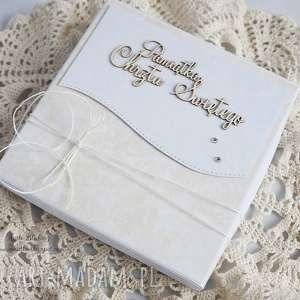 scrapbooking kartki na chrzest - z białą szatką, chrzest-święty, kartka-chrzcielna