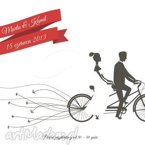 puszki wpisów -tandem- alternatywna księga gości, wesele, ślub, album, księga, wpisy