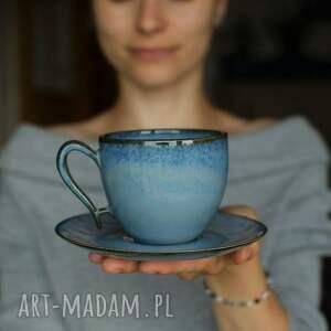 filiżanka ceramiczna morska 270 ml, do kawy