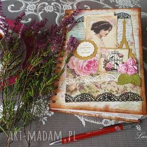 Vintage sekretnik pamiętnik for someone so special scrapbooking