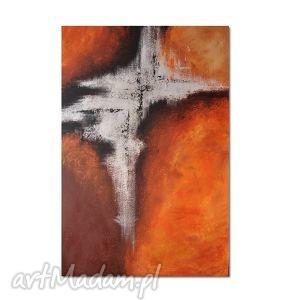 abstrakcja the rift, nowoczesny obraz ręcznie malowany - obraz, nowoczesny
