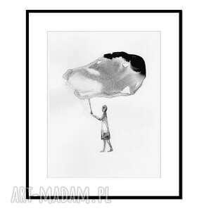 liquid mind, grafika, tusz, abstrakcja, obraz