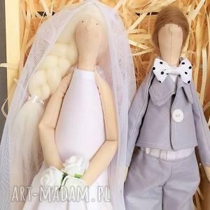 para ślubna pamiątka ślubu, lalki, ślubne, pamiątka, para