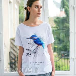 koszulki zimorodek t-shirt oversize