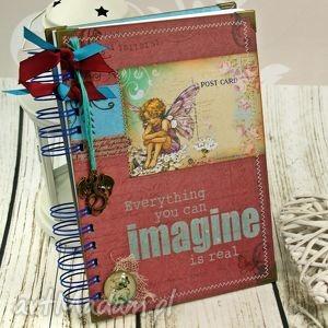 Pamiętnik-w krainie elfów, pamiętnik, notatnik, wróżnki, elfy, fantasy, sekretnik