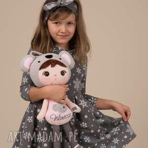 świąteczne prezenty Dziecięca sukienka ŚNIEŻYNKA Grafitowa!!, śnieżynki, święta
