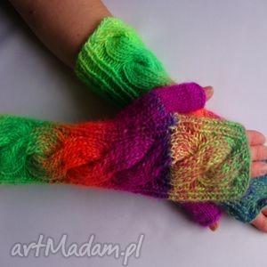 hand-made rękawiczki multikolor***