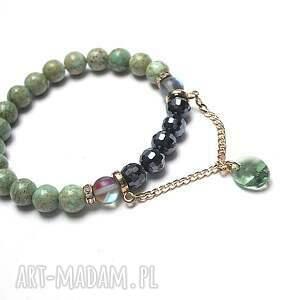 chain it - mint and navy blue vol 2 /01 04 20/, kamienie, minerały, ki ka