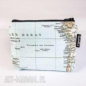 kosmetyczki mały świat, atlas, kosmetyczka, saszetka, mapa