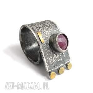 rubin - pierścień zawijany