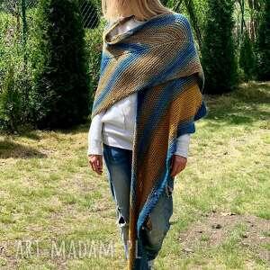 Bardzo duża chusta strzałka chustki i apaszki the wool art