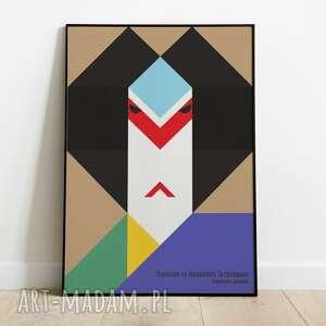 Ikko tanaka, plakat wystawowy 50x70 plakaty pas de lart